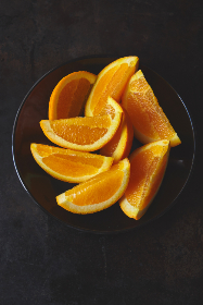 Photo of a sliced oranges