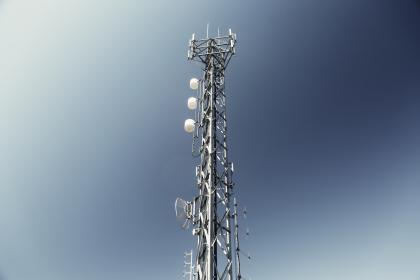 antenna, satellite, frequency, sky