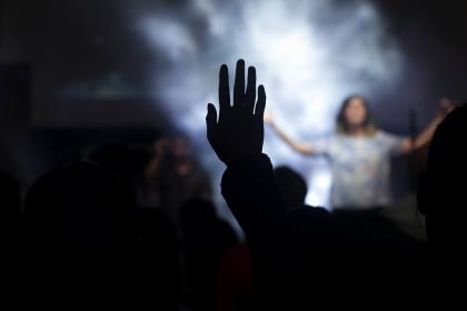 people, woman, praise, worship, shadow, stage, music, sound, concert