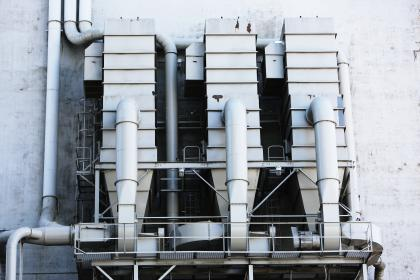 free photo of industrial  silos