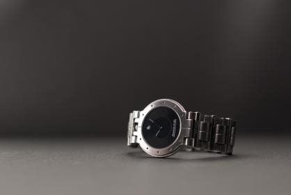 still, items, things, wrist, watch, time, circle, silver, studio, shot, bokeh