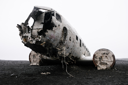 iceland, plane, wreck, crash, moody, abandoned, aircraft, aviation, broken, damage, landmark, landscape, outdoors, lonely, lost, metal, old, travel, vintage, accident