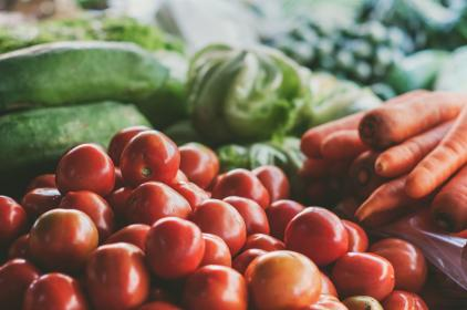 vegetables, food, healthy, tomatoes, carrots, lettuce