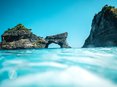 travel,  ocean,  cliff, rock, adventure, vacation, holiday, blue sky, sea, water, surf