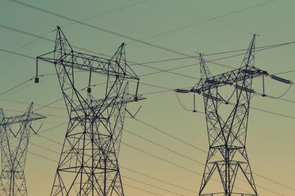 infrastructure, wires, structure, electricity, light