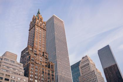 buildings, architecture, downtown, city, urban, skyscrapers, towers, business, corporate, sky