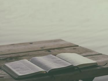 book, bible, reading, table