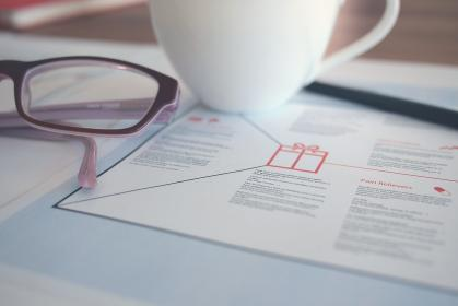 office, business, marketing, eyeglasses, cup, coffee