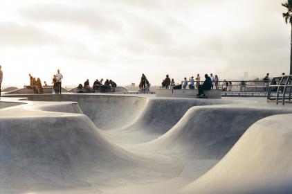skate park, half-pipe, skateboarding, skaters, sports, concrete, jumps, tricks, rails