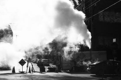 free photo of construction  smoke