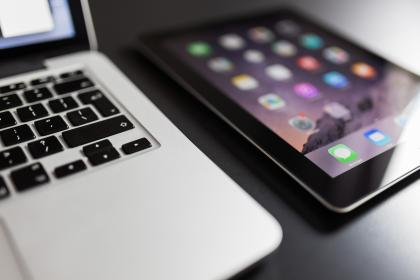 macbook, laptop, computer, ipad, tablet, technology, devices, objects, business, office, desk