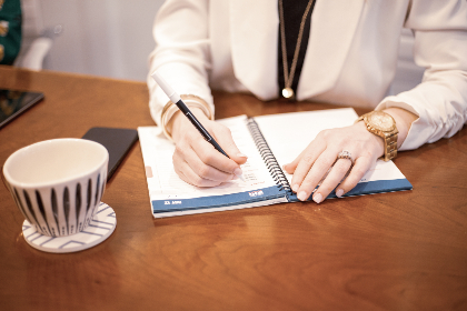writing,   letter,   hand,   note,   pen,   paper,   notebook,   woman,   female,   diary,   ring,   journal,   work,   person,   desk,  cup,  watch,  professional
