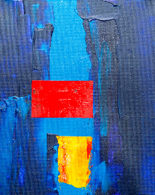 colorful,   abstract,   art,   paint,   acrylic,   oil,   canvas,   texture,   artist,   creative,   design,   brush,   brushstrokes,   painting,   dabs,  close up,  minimal,  red,  blue,  yellow