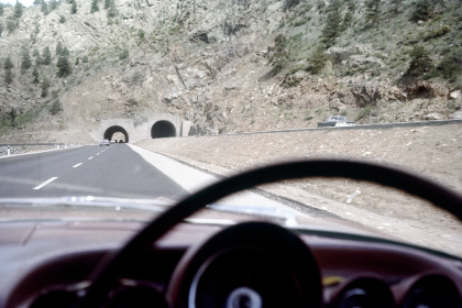 highway,   car,   vintage,   road,   america,   landscape,   auto,   travel,   interior,   film,   photography,   retro,   usa,   dashboard,   old,   mountains,  tunnel