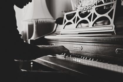 piano, classical, organ, wood, old, vintage, music, sound, instrument, people, man, chords, note