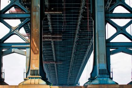 architectur, infrastructure, manhattan bridge club, landmark, steel, foundation