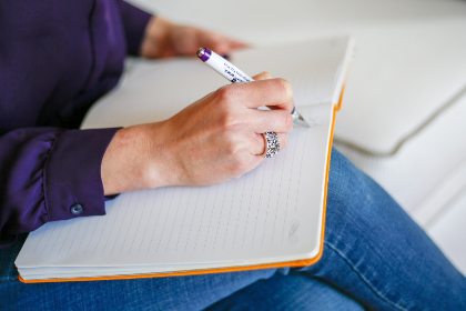 writing,   letter,   hand,   note,   pen,   paper,   notebook,   woman,   female,   diary,   ring,   journal,   work,   writer,   jeans,   person,  casual