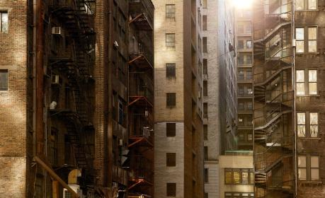 buildings, apartments, residences, windows, ladders, highrises, residential, city, fire esacpe