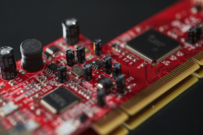 macro,   computer,   card,   circuit,   abstract,   technology,   focus,   electronic,   adapter,   chip,   digital,   connector,   bokeh,   capacitors,   board,  close up, pc