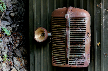 vintage,  vehicle,  grille,  truck,  headlight,  parts,  rusty,  antique,  old,  worn,  weathered,  barn,  garage,  automotive