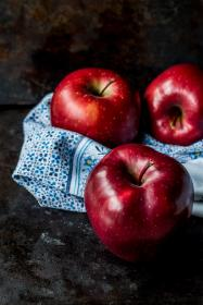 red, apple, fruit, food, juicy, health, cloth