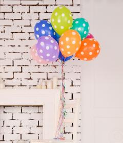 wall, inside, door, table, candle, colorful, green, yellow, blue, orange, pink, purple, birthday, party, balloon