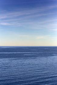 Photo of the ocean