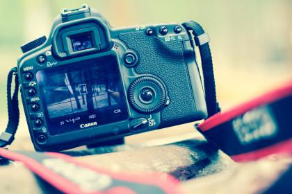 camera, canon, photography, dslr, blur