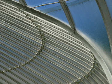 abstract,   background,   building,   futuristic,   curve,   modern,   perspective,   architecture,   metal,  roof,  steel,  sky,  ceiling