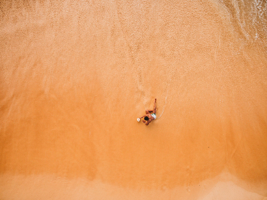 beach,   aerial,   man,   coast,   ocean,   sand,   water,   leisure,   travel,   fun,   coastline,   coastal,   summer,   tropical,   nature,   outdoors,   sea,   vacation,   tourism,  shore,  waves