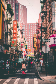 Chinatown,  New York City, street, urban, city, NYC