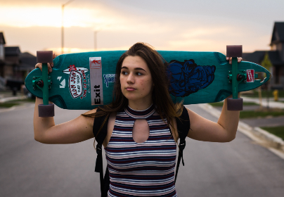 girl,  longboard,  summer,  cool,  hipster,  graphics,  grafitti,  art,  street,  city,  sport