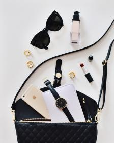 bag, watch, mobile, phone, iphone, gadget, accessories, sunglasses, lipstick, travel, wallet