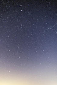 starry, sky, gradient, stars, astro, astronomy, cosmos, galaxy, space, constellations, nature, night, shooting star, wallpaper