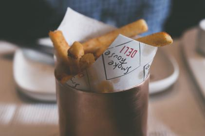 potato, fries, food, dining, area, restaurant, blur
