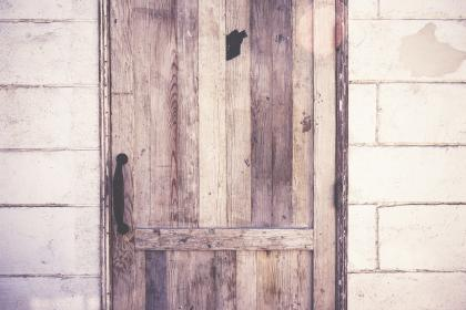free photo of wood  door
