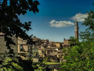 free photo of siena  tuscany