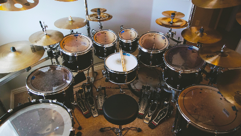 free photo of Drums   cymbals