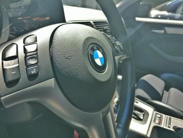 car, bmw, vehicle, transportation, luxury, steering wheel, driver, logo, driver