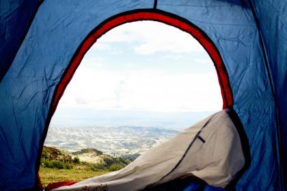 free photo of travel  tent