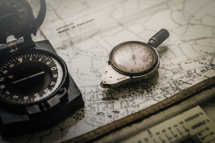 free photo of vintage   compass