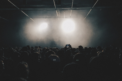 crowd,   audience,   people,   event,   concert,   music,   fans,   entertainment,   party,   festival,   rock,   light,   disco,   club,   celebration,   nightlife,   stage,   show,   smoke