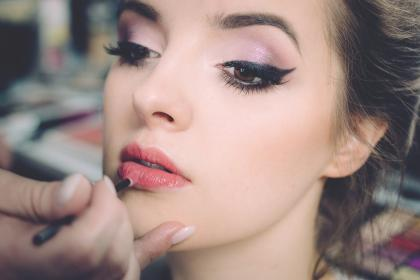 make up, people, woman, beauty, face, lipstick, mode
