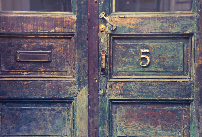 antiqu,  architecture,  doorway,  building,  five,  5,  letterbox,  wood,  vintage,  old