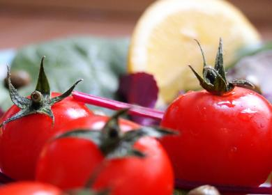 red, tomatoes, vegetables, healthy, food, lunch