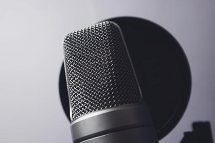 microphone, music, amplifier, music, sounds, electronic, black and white