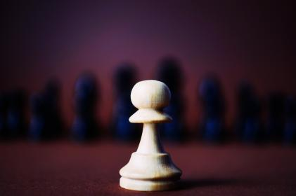 piece, chess, game, black, white, pawn, sport