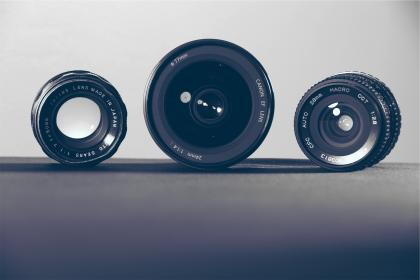 free photo of camera  lenses
