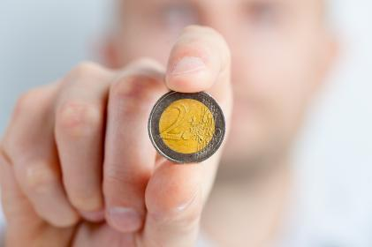 free photo of euro  coin