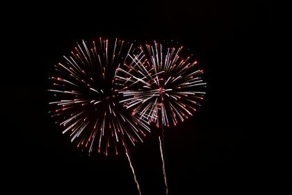 fireworks, still, light, show, flames, slow, shutter, night, dark, sky, celebration, new year, party